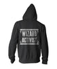 Wizard Activist Hoodie - Zip Up - Staff