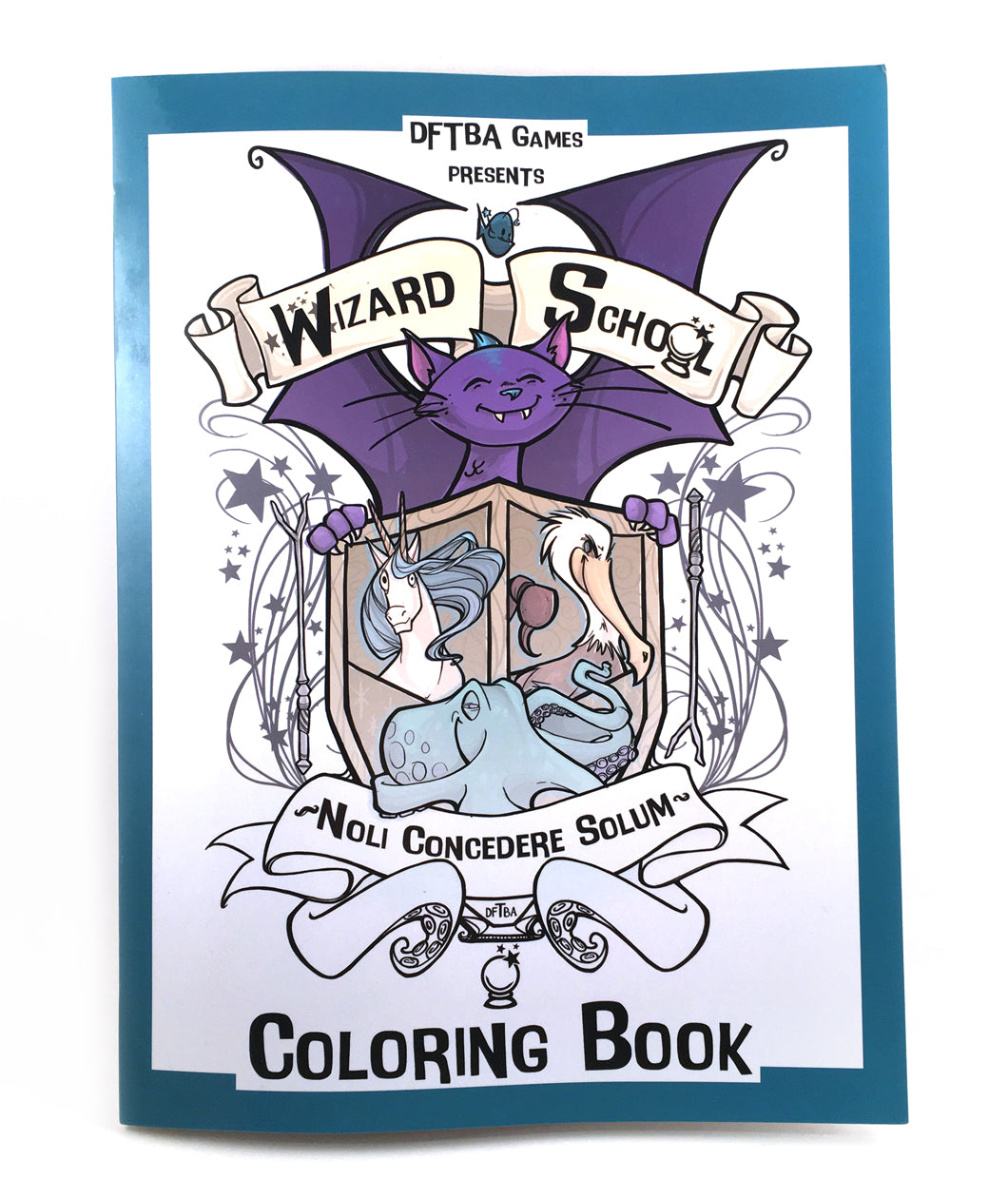 Wizard School Coloring Book
