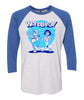 Wonderful 3/4 Sleeve Baseball Shirt