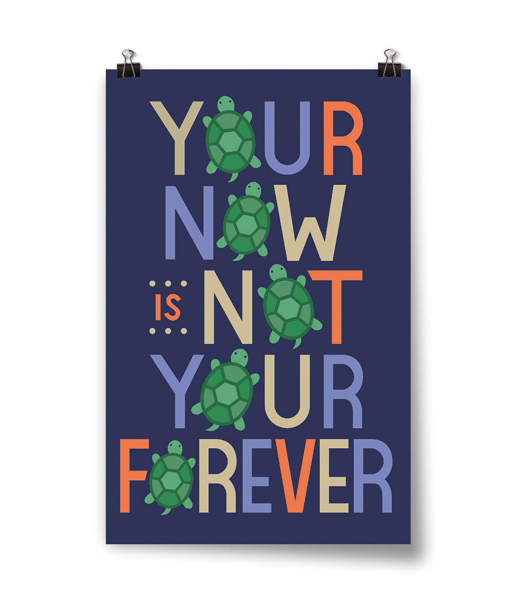 Your Now Is Not Your Forever Poster