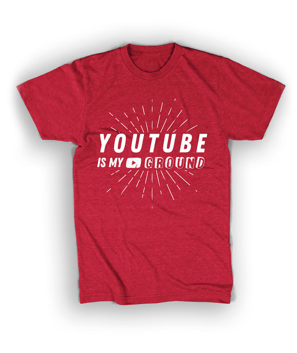 Youtube Is My Playground Shirt