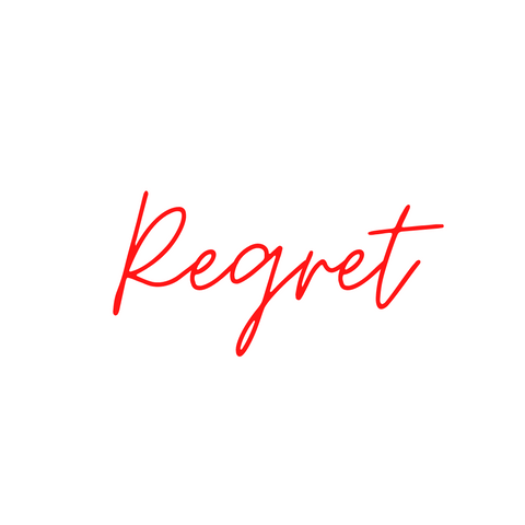 The Big Regret