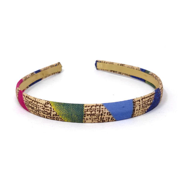 Anokhi Ada Handmade Fabric Hairband/Headband for Girls and Women (Multi-Colour)-04-27H