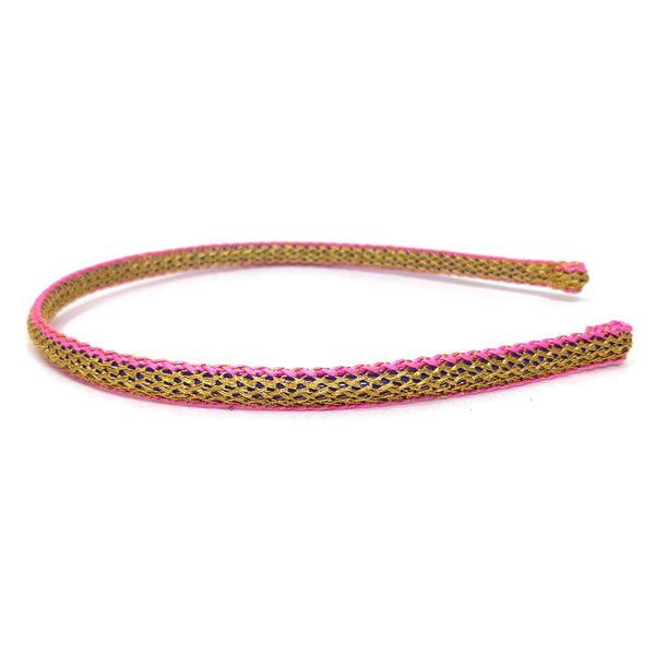 Anokhi Ada Fancy Fabric Plastic Hairband/Headband for Girls and Women (Combo of 2 Hairband)-04-31H
