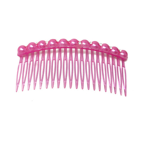 Anokhi Ada Hair Comb Clip for Women and Girls, Pink (07-01)