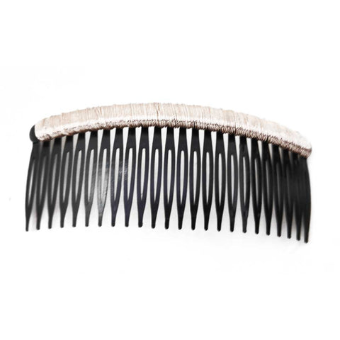 Anokhi Ada Hair Comb Clip for Women and Girls, Black (07-07)