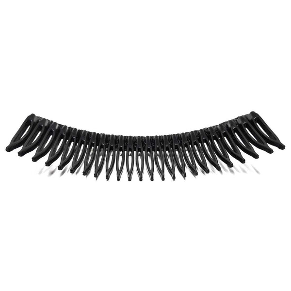 Anokhi Ada Hair Comb Clip for Women and Girls, Black (07-09)