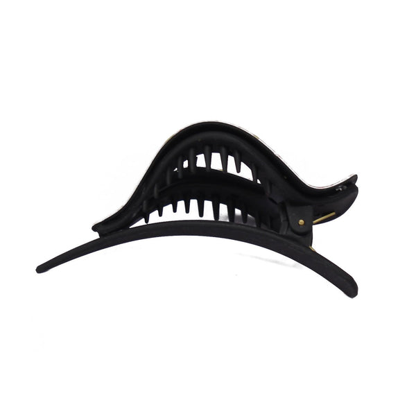 Large Pointed Fancy Plastic Hair Claw for Girls and Women - 07-12