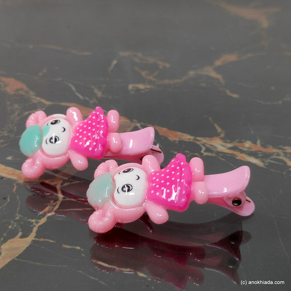Anokhi Ada Doll Design Hair Clips for Kids and Girls (10-41)