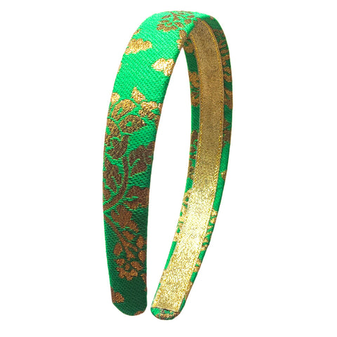 Anokhi Ada Handmade Fabric Hairband/Headband for Girls and Women (Light Green)-14-04H