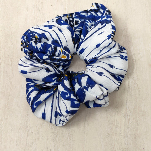 Anokhi Ada Multi-Colour Satin Scrunchie for Girls and Women (15-01 Scrunchie)