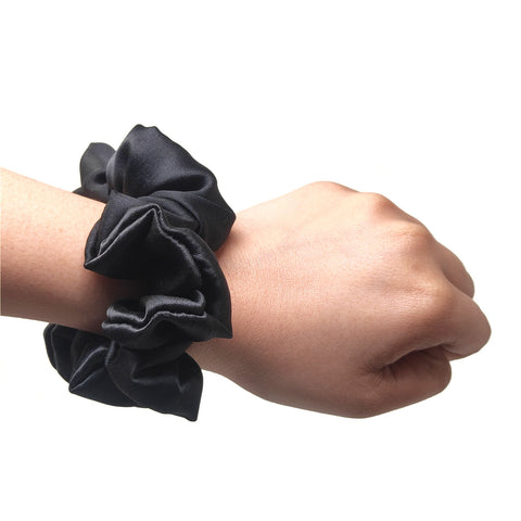 Mini Black Berry Scrunchie (15-244 Scrunchie)