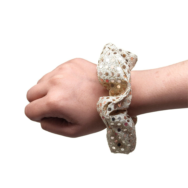 Goldy Sequin Scrunchie (15-289 Scrunchie)