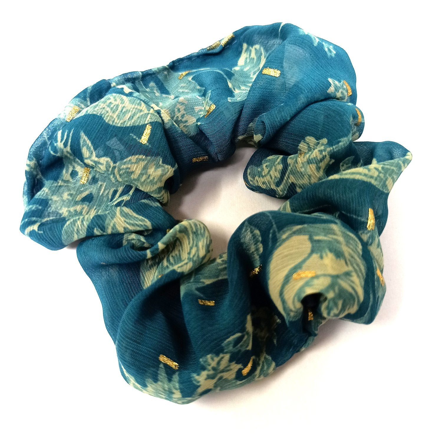 Anokhi Ada Fabric Scrunchie for Girls and Women (15-78 Scrunchie)