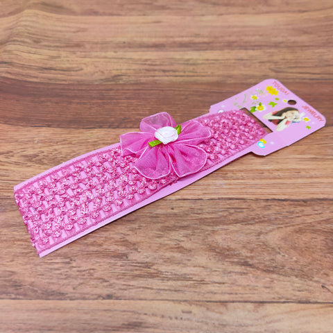 Floral Soft Stretchy Headbands for Baby Girls and Newborn (17-26 Baby Headband)