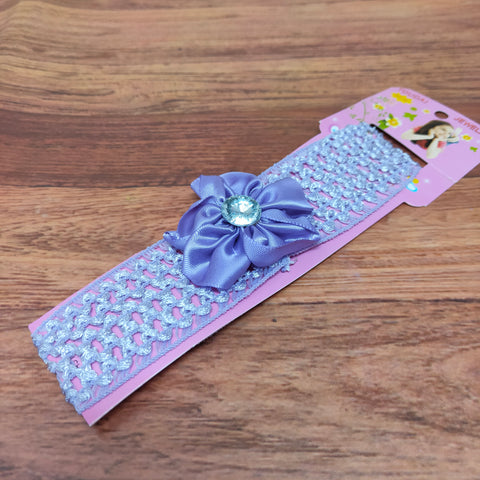 Floral Soft Stretchy Headbands for Baby Girls and Newborn (17-32 Baby Headband)