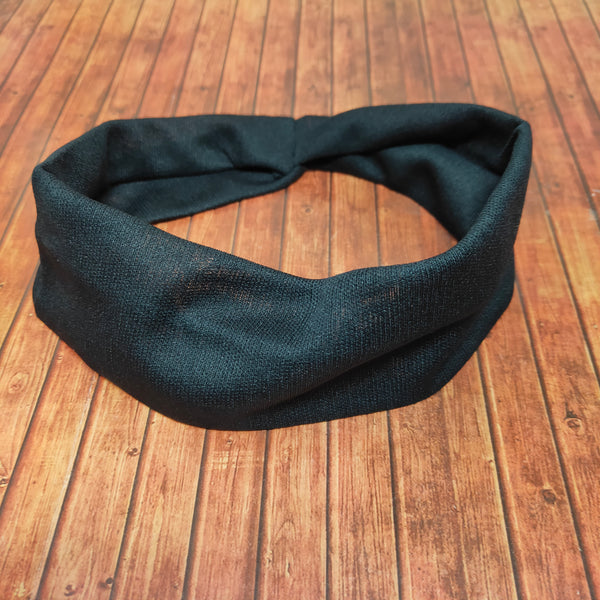 Plain Soft Stretchy Headbands for Girls and Women for Yoga and Workout (17-35 Headband)