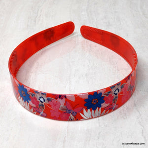Anokhi Ada Plastic Floral Print Headbands/Hairbands for Kids and Girls (19-10a)