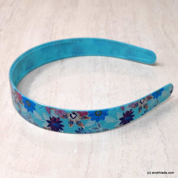 Anokhi Ada Plastic Floral Print Headbands/Hairbands for Kids and Girls (19-10e)