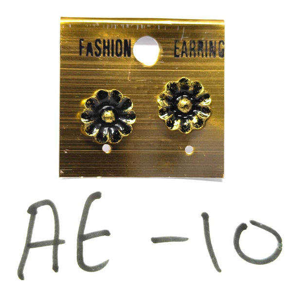 Anokhi Ada Metal Studs Earrings for Girls and Women ( Copper )-AE-10