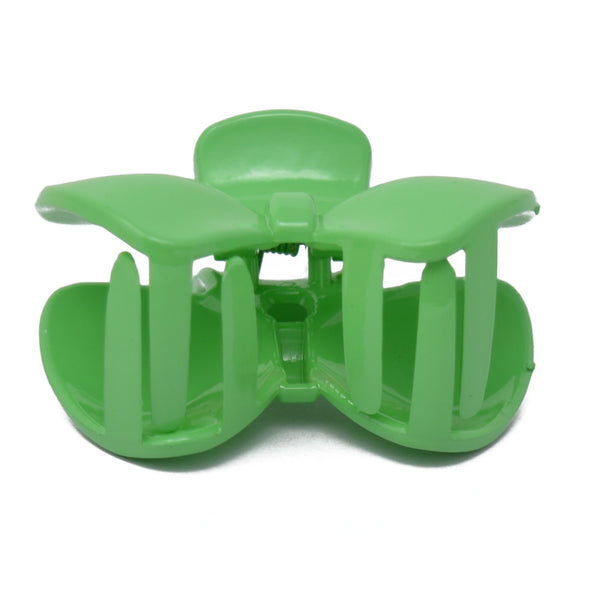 Bow Hair Clutcher for Girls and Women (Green) - 038