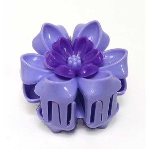 Anokhi ADA Floral Hair Clutcher for Girls and Women (One Hair Clutcher, Purple) -C-48