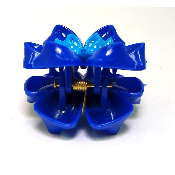Anokhi ADA Floral Hair Clutcher for Girls and Women (One Hair Clutcher, Blue) -C-44