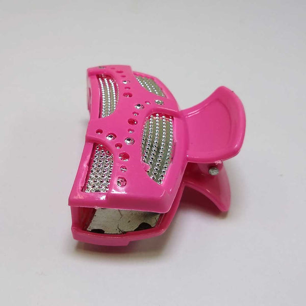 Anokhi ADA Shining Hair Clutcher for Girls and Women (One Hair Clutcher, Hot Pink) -C-18