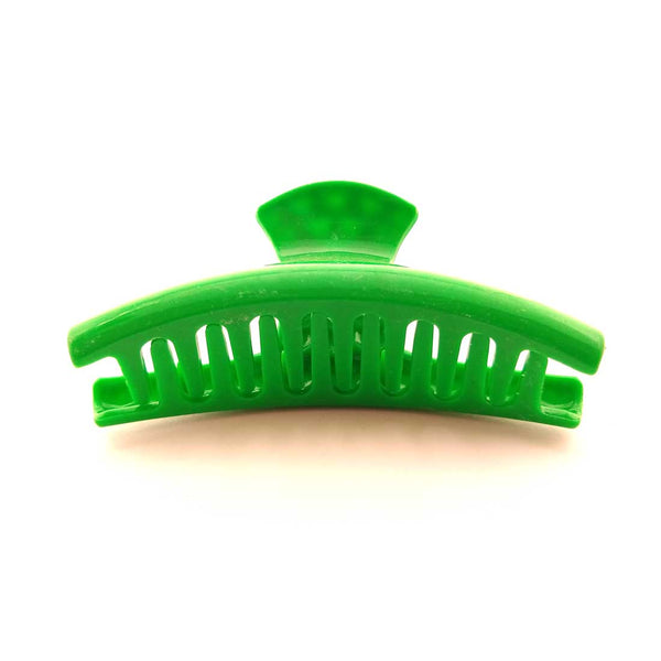 Large Green Hair Clutcher/ Hair Claw for Girls and Women-4