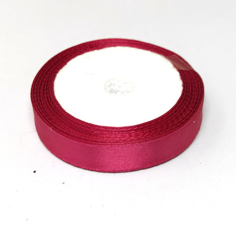 12.5 mm (Half Inch) Purple Satin Ribbon (016)