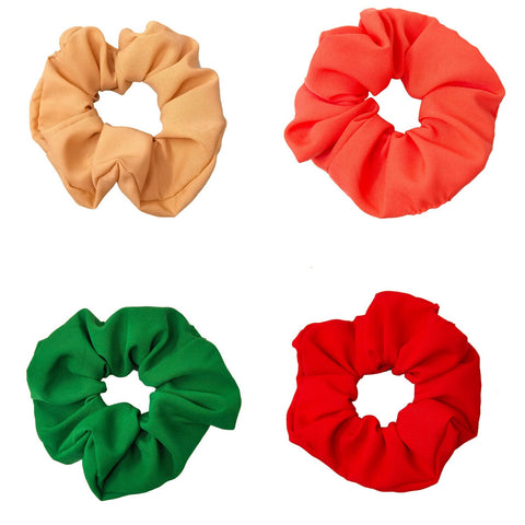 Solid Color Scrunchies Combo (15-281 Scrunchies)