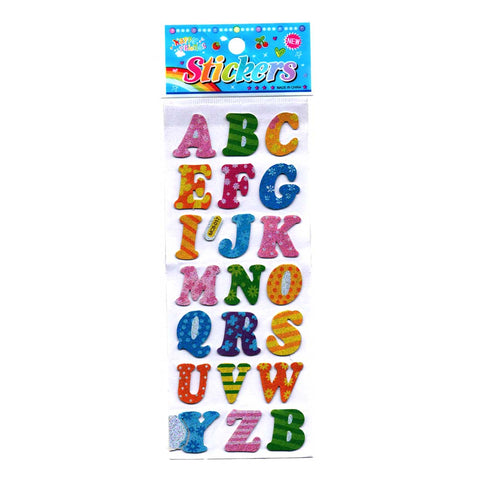 Alphabet Stickers for Kids