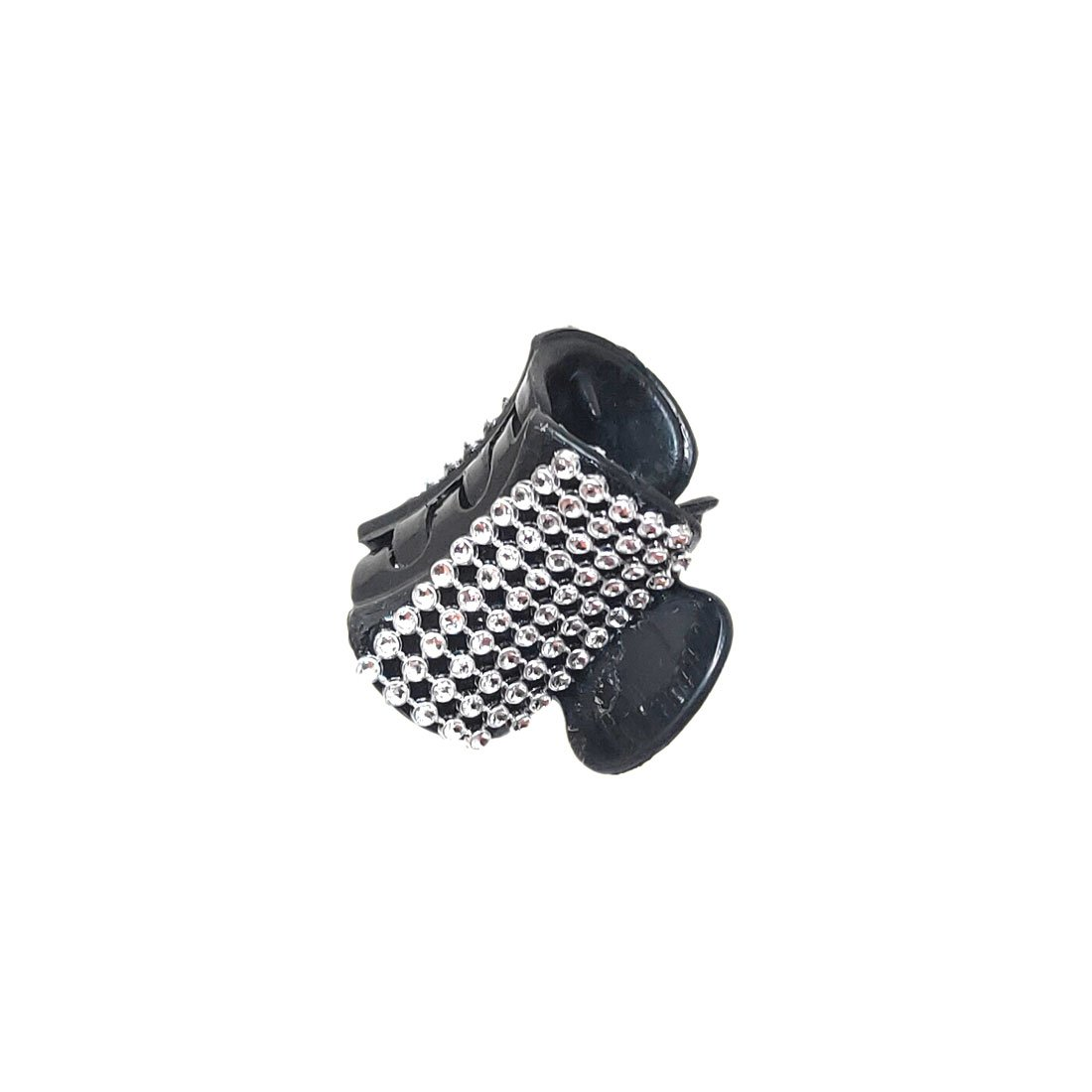 Anokhi Ada Black Designer Handmade Fancy Plastic Hair Clutcher for Girls and Women (ZL-02) - Anokhiada.com