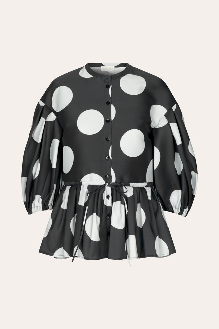 Stine Goya Ferrah Showpiece Top Top 1932 Dots Black