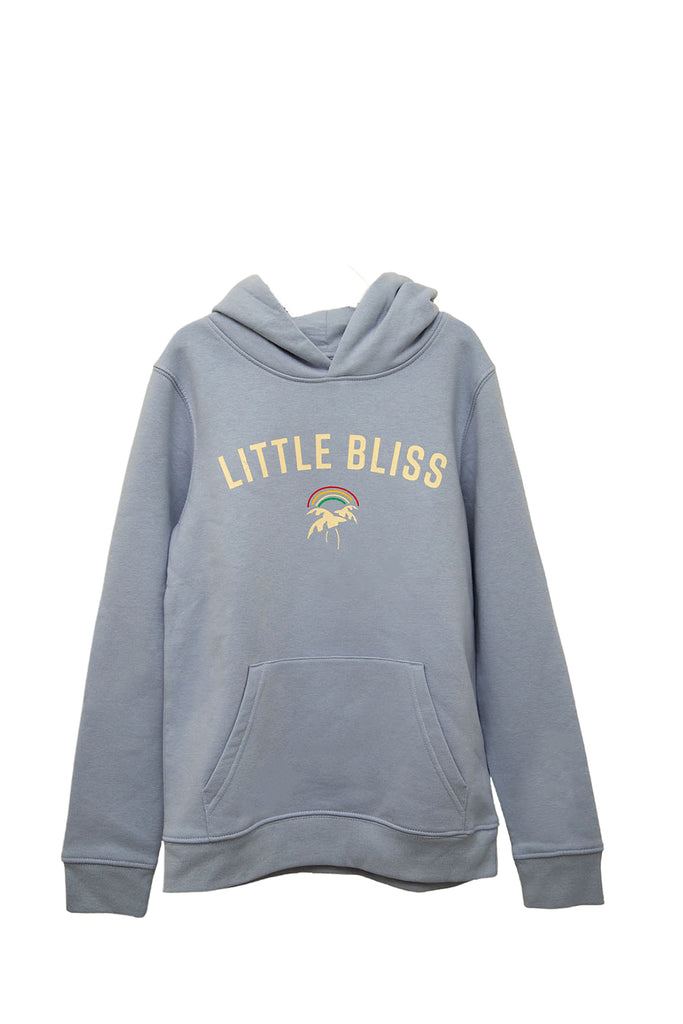 Mini Little Bliss Hoodie in Powder Blue