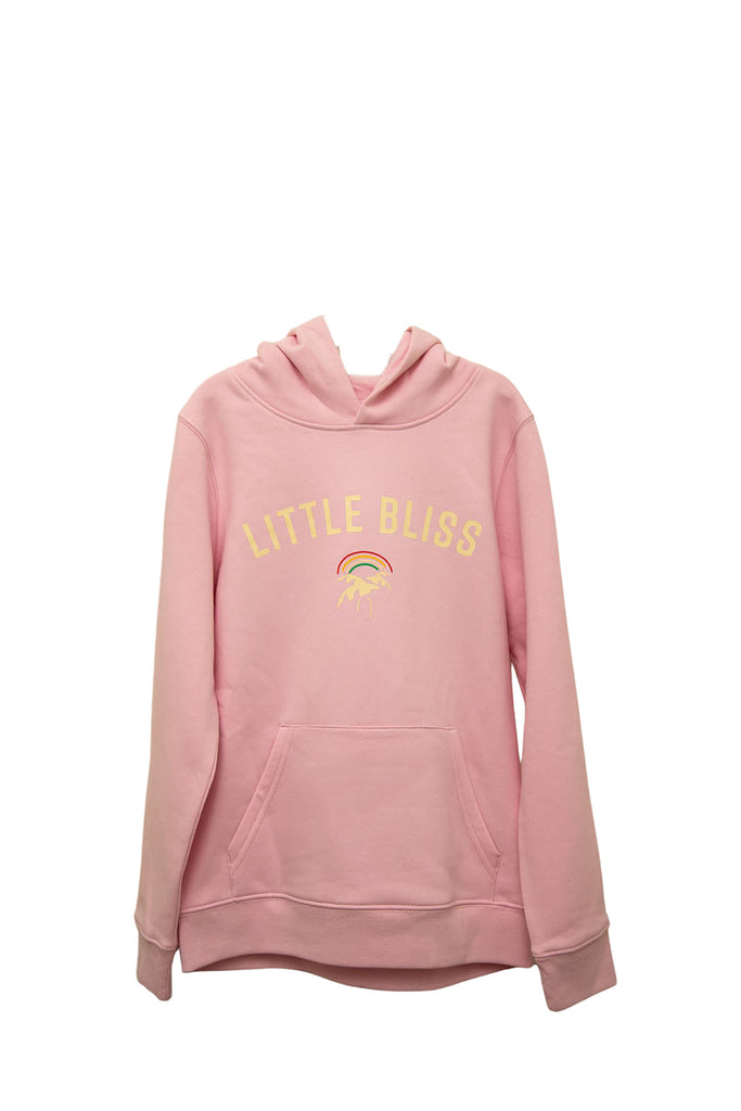 Mini Little Bliss Hoodie in Cotton Pink