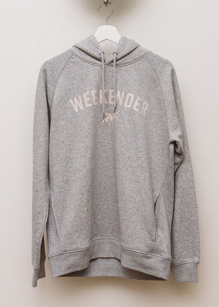 Little Bliss by Anna Daly Grey Weekender Hoodie