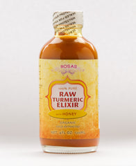 Turmeric Honey Tonic Raw Organic Rosas