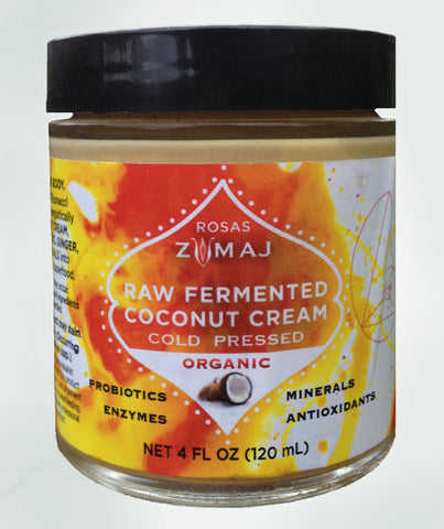 ZUMAJ Raw Fermented Coconut Cream