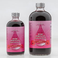 Raw Organic Hibiscus Concentrate