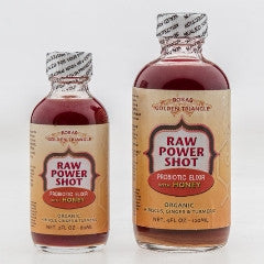 Golden Triangle Raw Power Shot Organic Rosas w/ HONEY