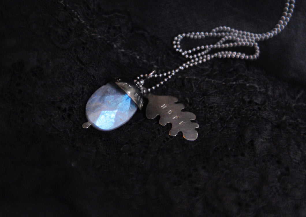 ¨Acorn of Hope ¨ Chain Necklace