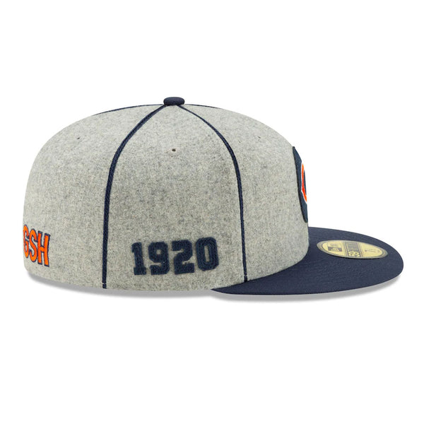 Chicago Bears New Era NFL Sideline 1920-25 59FIFTY Fitted Cap