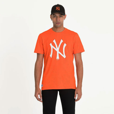 New York Yankees New Era MLB Seasonal Team Logo T Shirt