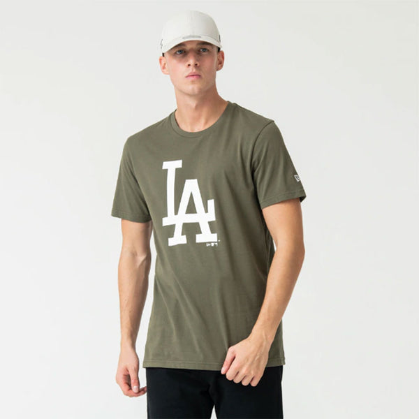 LA Dodgers New Era MLB Seasonal Team Logo T Shirt