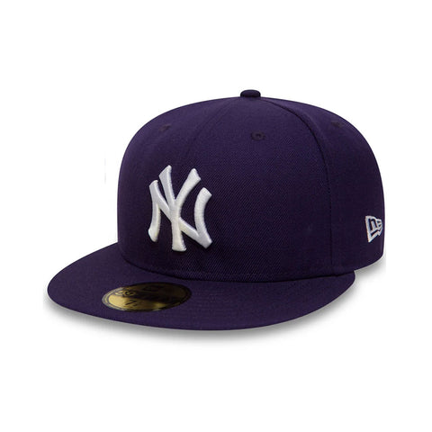 New York Yankees 59FIFTY Purple Fitted MLB Baseball Cap