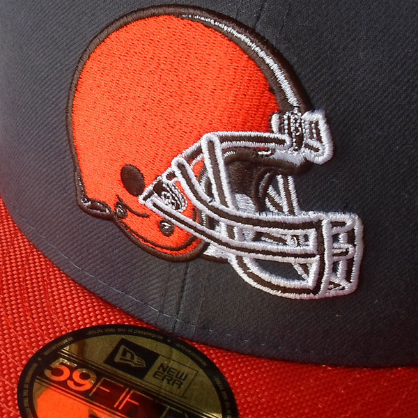 Cleveland Browns Ballistic Visor NFL 59FIFTY Fitted Baseball Cap
