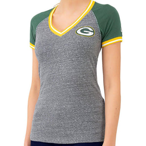Green Bay Packers Ladies NFL Short Sleeve T Shirt