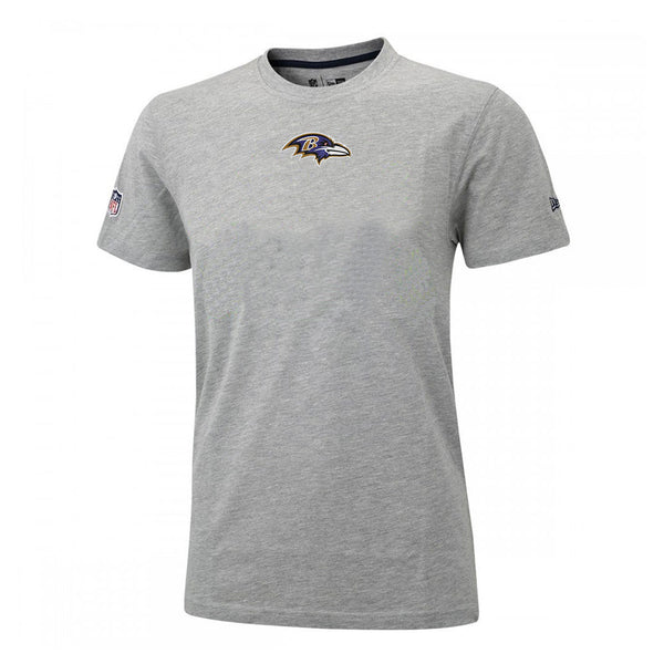 Baltimore Ravens NFL Athletic Grey New Era T shirt