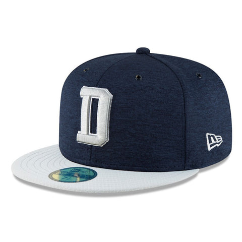 Dallas Cowboys 'D Logo' NFL 59FIFTY Fitted Cap - size 7 1/2